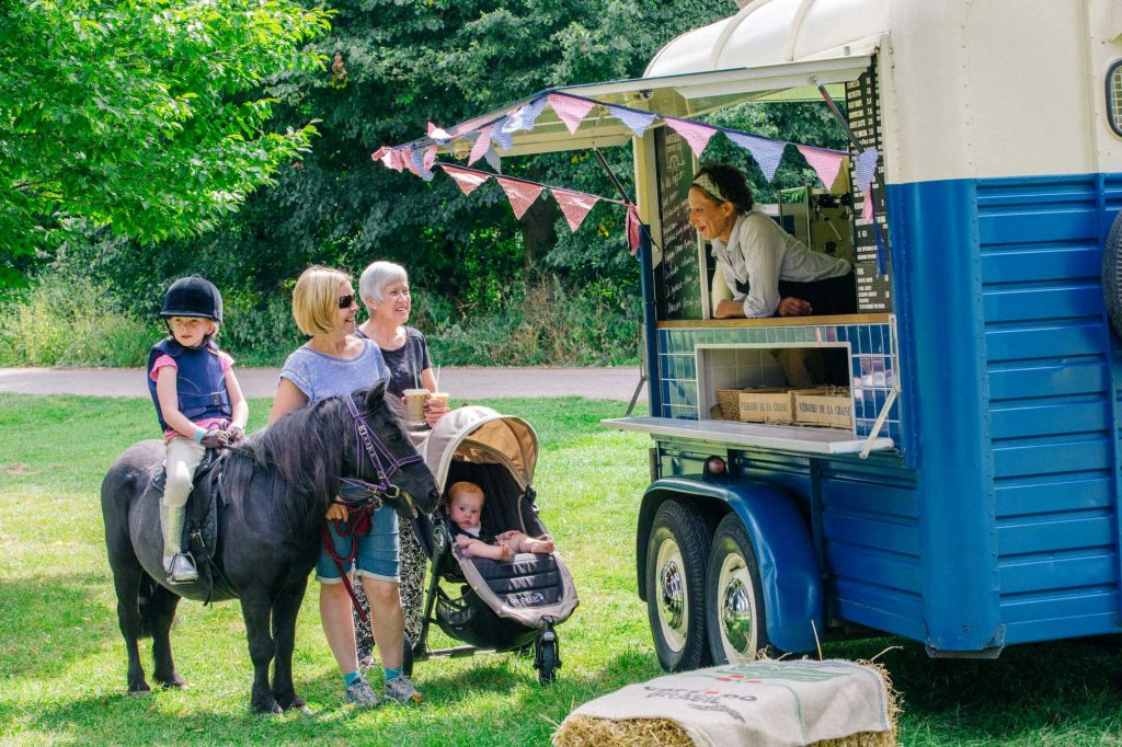 Coffee Van, Coffee roaster, Barista, Horsebox Coffee Van