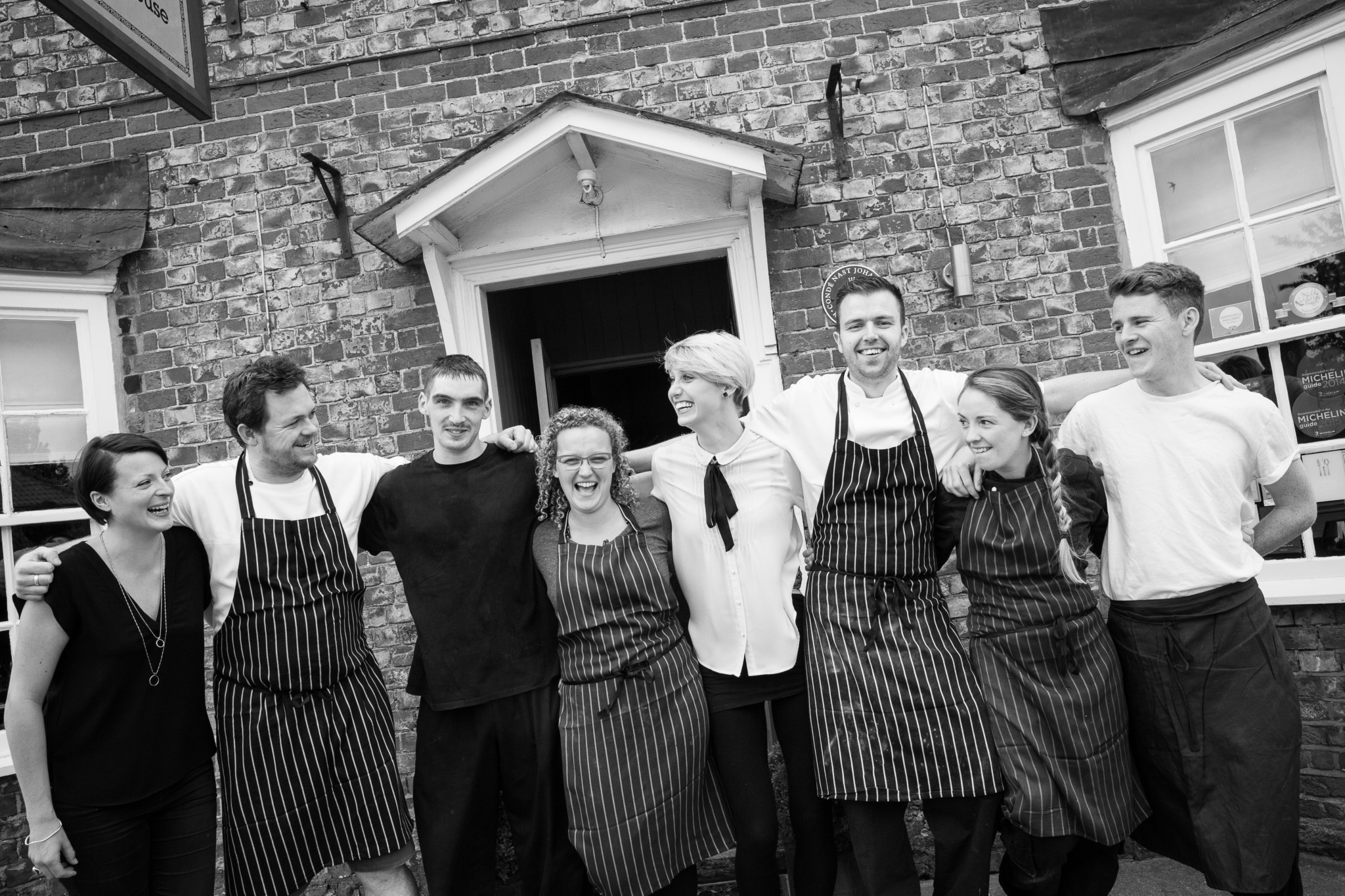 Business Portraits, The Team, The Red Lion Britwell Salome
