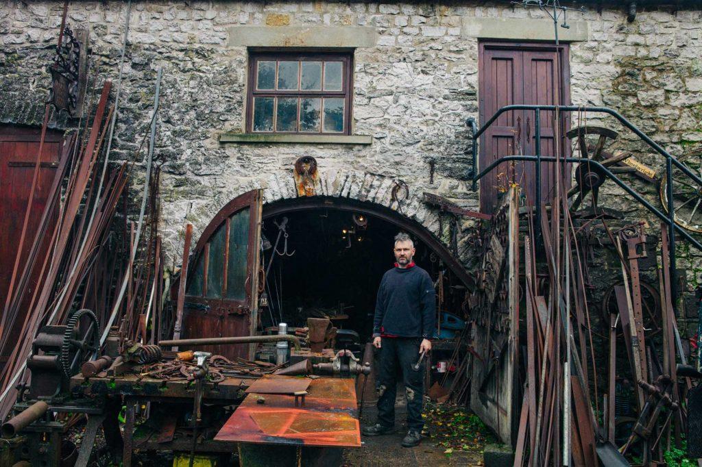 Blacksmith, forge