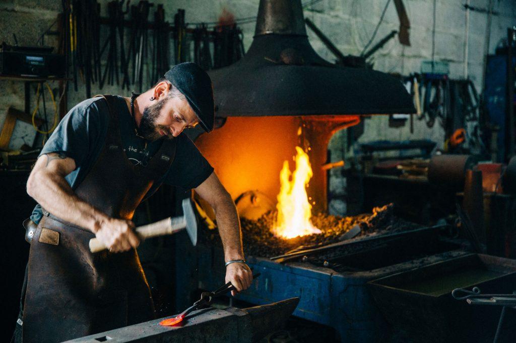 Blacksmith, cobalt blacksmith