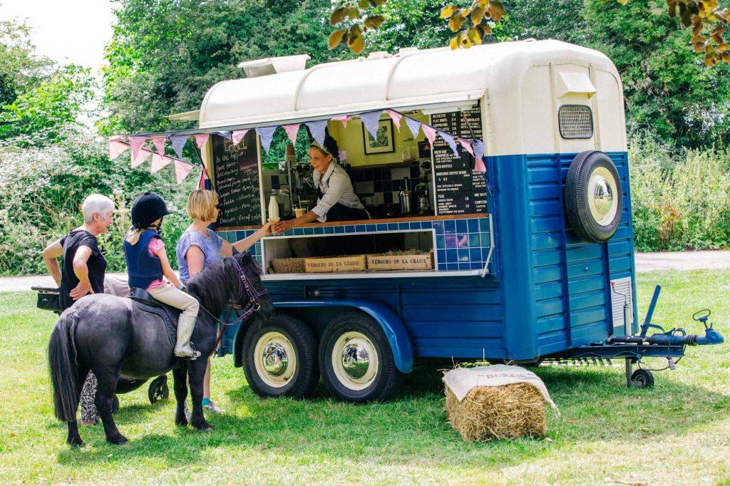 Coffee Van, Coffee roaster, Barista, Horsebox Coffee Van