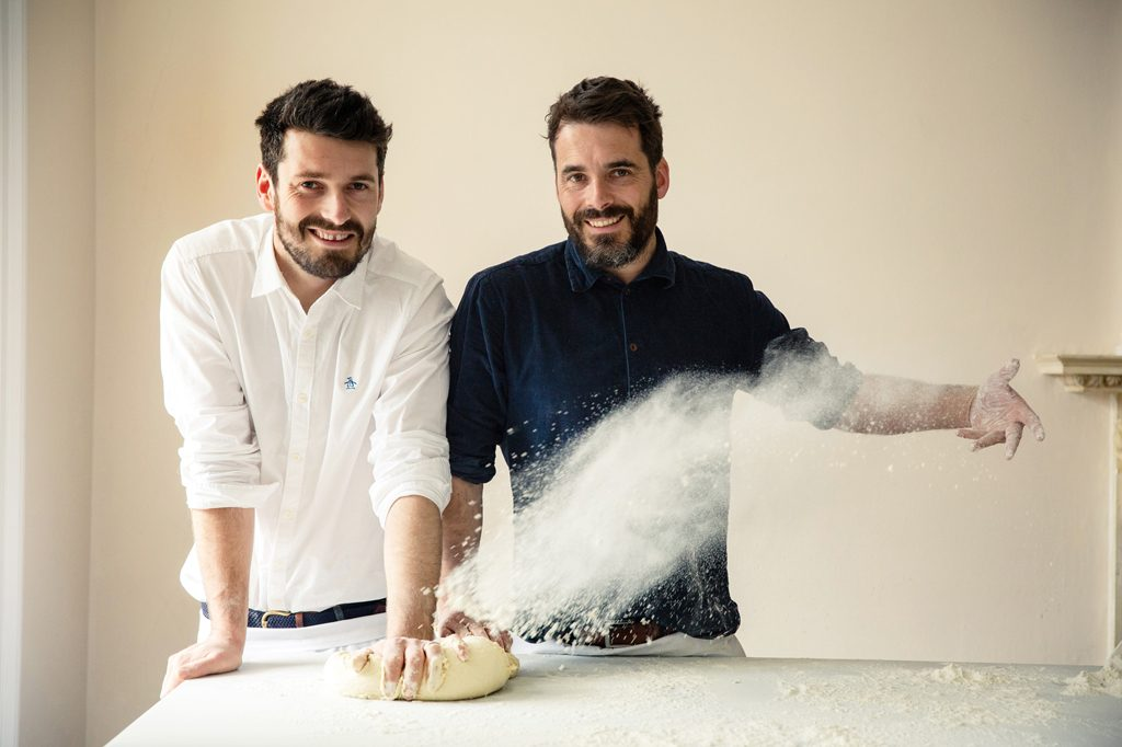 Portrait of Bakers, Hobbs House Bakery, Tom Herbert, Henry Herbert, Fabulous Baker Brothers