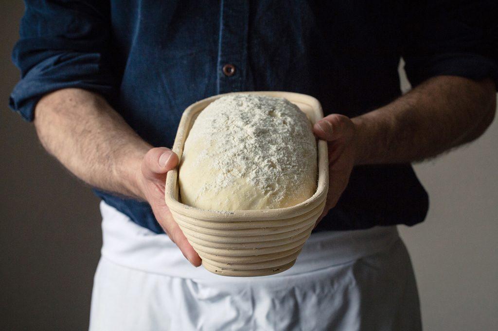 Bread in proving basket, Hobbs House Bakery, Tom Herbert, Fabulous Baker Brothers