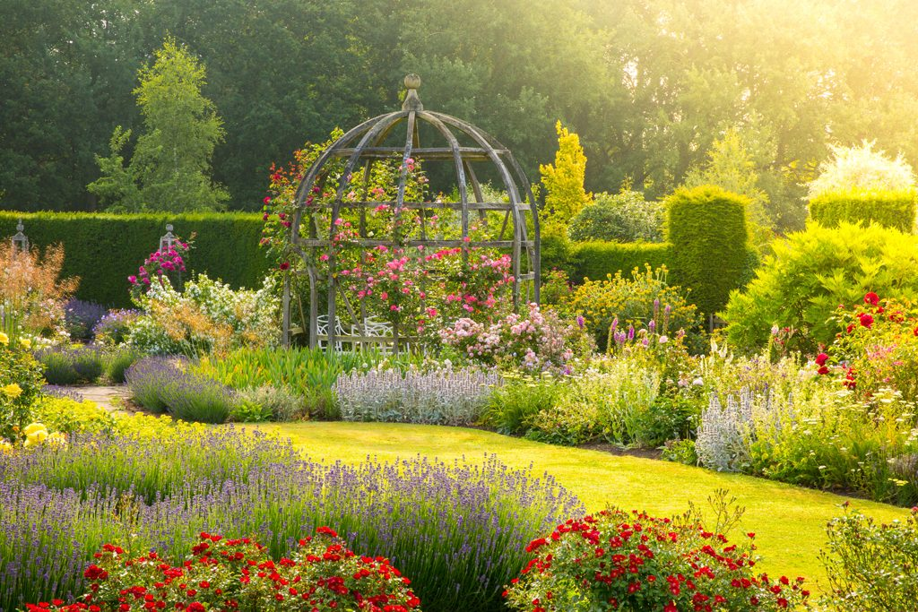 The Mary Rose Garden, Waterperry Gardens