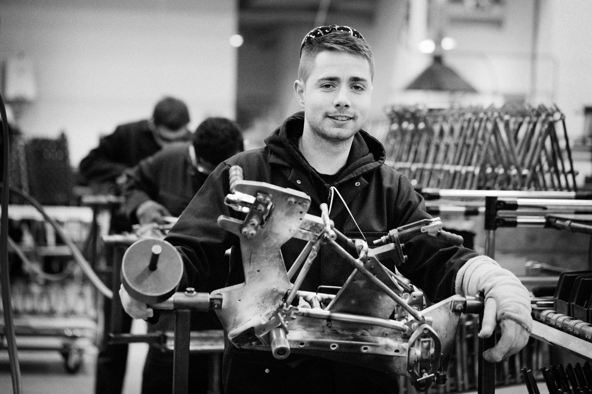 Brompton cycle, folding bike, Brompton Bicycle, manufacturing, british made bikes, bikes, cycling, brazing, Brompton