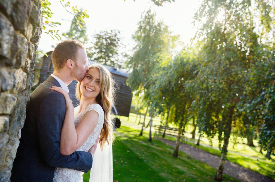 Kat & Andy, Tythe Barn Wedding